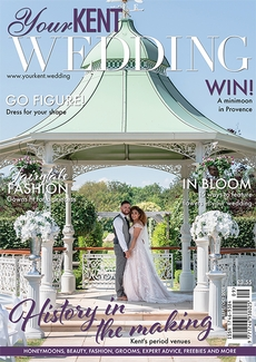 Cover of Your Kent Wedding, September/October 2021 issue