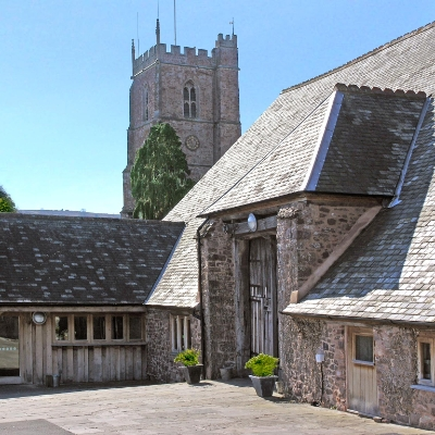 Make sure you check out the wedding show at Dunster Tithe Barn