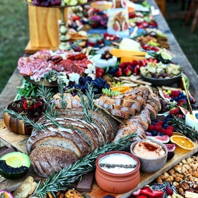 Somerset wedding caterers Taste talk about the wedding catering trend for informal grazing food