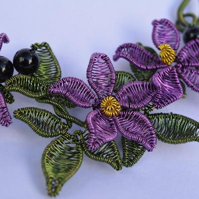 We get colourful with Somerset wedding jeweller Holly Berkley Jewellery