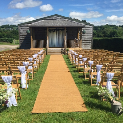 Somerset wedding venue The Barn at Cott Farm introduces new wedding packages