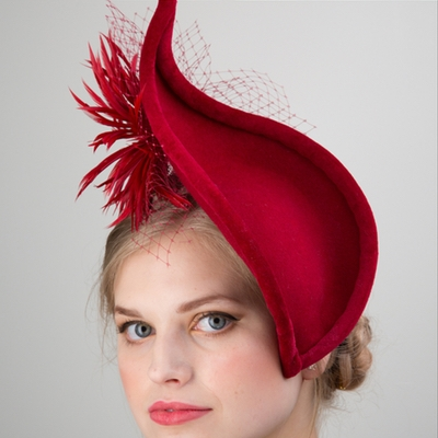 A new collection and luxury face masks from Bristol's Annabel Allen Millinery