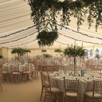 Creative Collections tells us how to style a marquee wedding