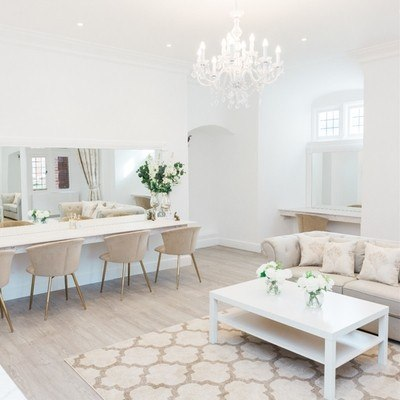 We love the new Getting Ready Room at Somerset venue Crowcombe Court