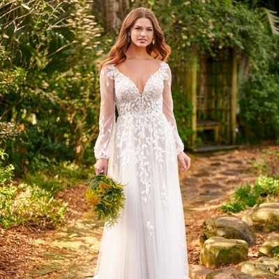 How to get a relaxed boho-bride look – with Rookery Bridal