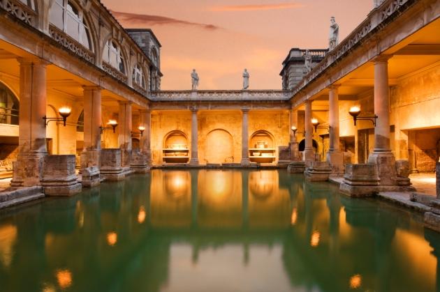 Roman Baths & Pump Room, Bath