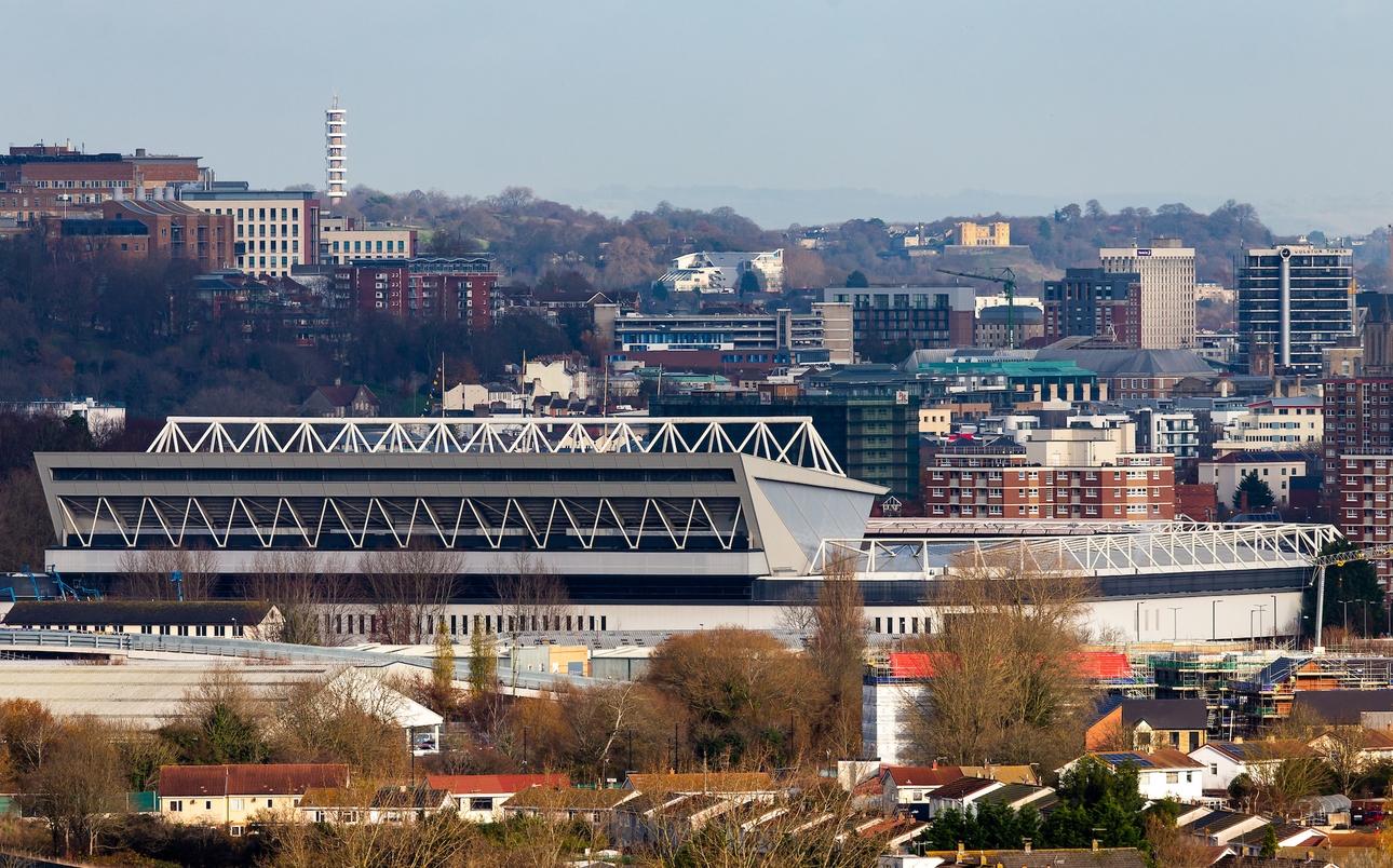 Ashton Gate Stadium in Bristol